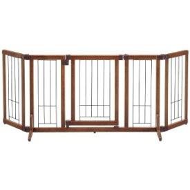 リッチェル ペット用木製おくだけドア付ゲート(M) モクセイオクダケドアツキゲートM