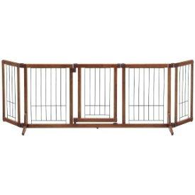 リッチェル ペット用木製おくだけドア付ゲート(L) モクセイオクダケドアツキゲートL