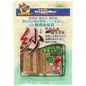 ドギーマン 無添加良品 紗 野菜入り 170g ムテンカリヨウヒンサヤヤサイイリ170G