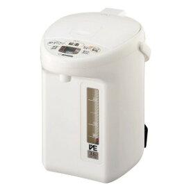 象印 ZOJIRUSHI 電気ポット 「優湯生」 [3.0L/電動式/まほうびん保温/蒸気セーブ] CVTZ30(WA
