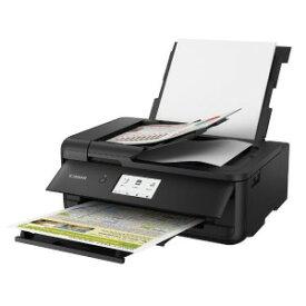 キヤノン CANON ビジネスインクジェット複合機[カード・名刺〜A3対応/USB2.0/無線・有線LAN/ADF搭載] TR9530BK (ブラック)