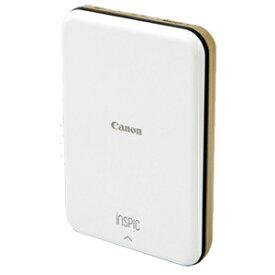 Canon スマートフォン専用ミニフォトプリンター iNSPiC PV−123−GD ゴールド