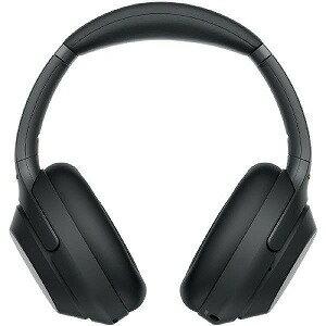 ソニー ワイヤレスノイズキャンセリングステレオヘッドセット WH−1000XM3BM ブラック(送料無料)