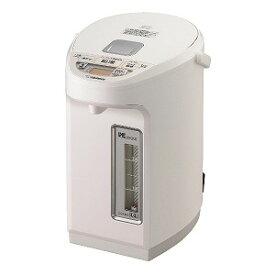 象印 ZOJIRUSHI 電気ポット 「優湯生」 [3.0L/電動式/まほうびん保温/蒸気レス] CV−WB30(WA) ホワイト