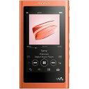 ソニー ハイレゾ対応ウォークマン(64GB)「WAシリーズ」 NW−A57 (RM)トワイライトレッド[イヤホンは付属していません]