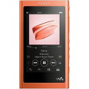 ソニー SONY ハイレゾ対応ウォークマン(16GB)「WAシリーズ」 NW−A55 (RM)トワイライトレッド[イヤホンは付…