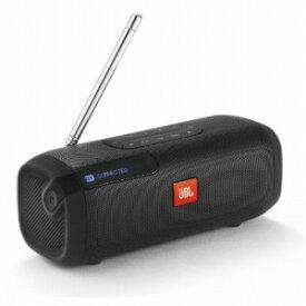 JBL FMラジオ付きBluetoothスピーカー JBLTUNERFMBLKJN ブラック