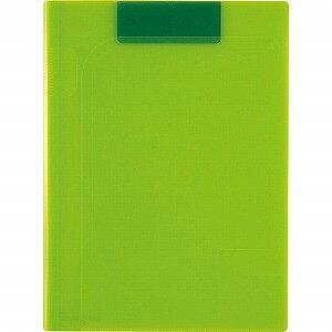 セキセイ アクティフV クリップファイル 〈マグネプラス〉 ACT−5924−33 ライトグリーン(LG)