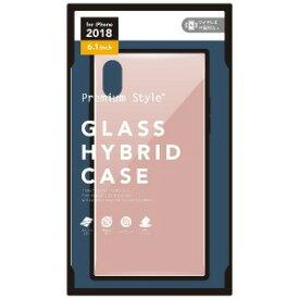 121f4b8130 PGA iPhone XR用 ガラスハイブリッドケース ピンク PG−18YGT04PK ピンク