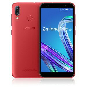 ASUS Zenfone Max M1 Series ZB555KL−RD32S3 ルビーレッド
