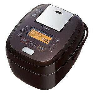 パナソニック 可変圧力IH炊飯器 「可変圧力おどり炊き」(5.5合) SR−PA108−T ブラウン