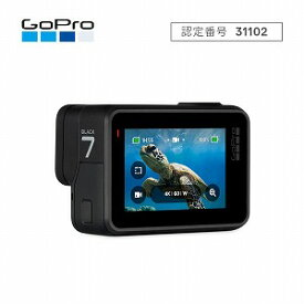 GOPRO マイクロSD対応 4Kムービー ウェアラブルカメラ GoPro HERO7 CHDHX−701−FW