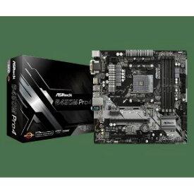 ASROCK マザーボード ASRock B450MPro4 [MicroATX /AM4]