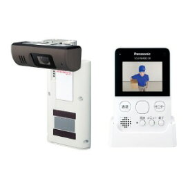 パナソニック ホームネットワークシステム(モニター付きドアカメラ) VS−HC400−W ホワイト
