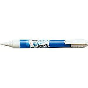 ぺんてる [修正液] ペン修正液 はがき用 <油性・水性インキ両用> XZL22−H