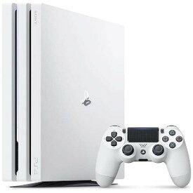 ソニーインタラクティブエンタテインメント PS4本体 PlayStation 4 Pro グレイシャー・ホワイト 1TB CUH−7200BB02