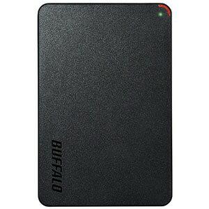 バッファロー 外付けHDD MiniStation [2.5インチ・1TB] HD−PCFS1.0U3−BBA ブラック