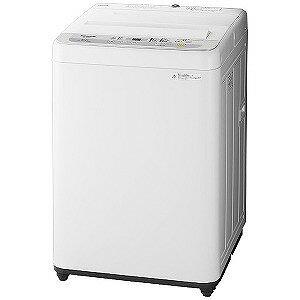 パナソニック 全自動洗濯機(洗濯6.0kg) NA−F60B12−S シルバー(標準設置無料)