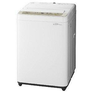 パナソニック 全自動洗濯機(洗濯5.0kg) NA−F50B12−N シャンパン(標準設置無料)