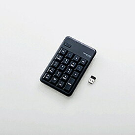 エレコム ワイヤレステンキーパッド[2.4GHz USB・Win]ブラック TK−TDM017BK