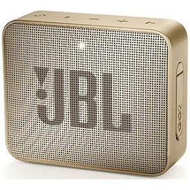 JBL ブルートゥーススピーカー [Bluetooth対応 /防水] JBLGO2CHAMPAGNE シャンパン