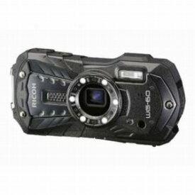 リコー 防水コンパクトデジタルカメラ [防水+防塵+耐衝撃] RICOH WG−60(ブラック)