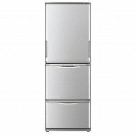 シャープ 3ドア冷蔵庫(350L・どっちもドア) SJ−W351E−S シルバー系(標準設置無料)