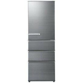AQUA 4ドア冷蔵庫(375L・右開き) AQR−SV38H−S チタニウムシルバー (標準設置無料)