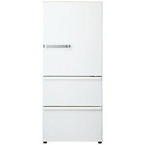 AQUA 3ドア冷蔵庫(272L・右開き) AQR−27G2−W ナチュラルホワイト(標準設置無料)