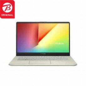 ASUS 14.0型ノートパソコン VivoBook S14 S430UA−IGBKS アイシクルゴールド