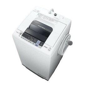 日立 全自動洗濯機 「白い約束」 [洗濯7.0kg/ふろ水ポンプあり] NW−70C ピュアホワイト(標準設置無料)