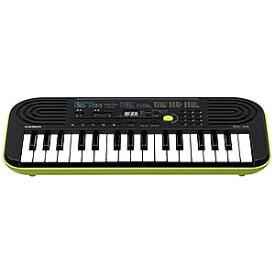 CASIO ミニキーボード (ブラック/グリーン・32鍵盤) SA−46