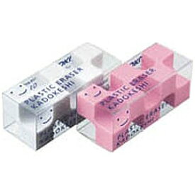 コクヨ [消しゴム] カドケシプチ ピンク・ホワイト2色セット ケシ−U750−2