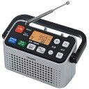 ツインバード ワイドFM対応ワンセグ/FM/AM 手元スピーカー内蔵 ホームラジオ AVJ127S