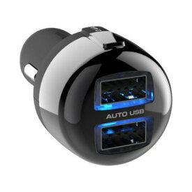 カシムラ DC−4.8A リバーシブル USB2ポート 自動判定 AJ558