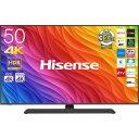 ハイセンス 50V型液晶テレビ4K対応 50A6800(標準設置無料)