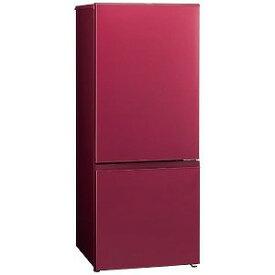 AQUA 2ドア冷蔵庫(184L・右開き) AQR−18H(R) ルージュ (標準設置無料)