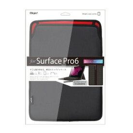 ナカバヤシ SurfacePro6用 スリップインケース TBCSFP1803BK(ブラ