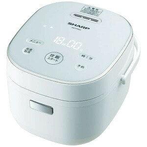 シャープ 炊飯器 KS−CF05A−W 炊飯器 ホワイト系 (3合 /マイコン)