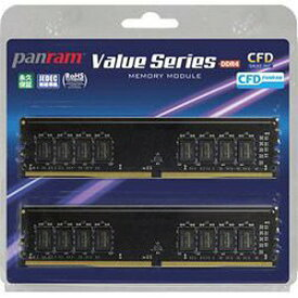 CFD CFD Panram DDR4−2666 デスクトップ用メモリ 288pin W4U2666PS8GC19