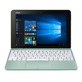 ASUS ノートパソコン [10.1型 /intel Atom /eMMC:64GB /メモリ:4GB] T101HA−64MGZP ミントグリーン