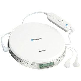東芝 ポータブルCDプレーヤー Bluetooth送信機能付き TY−P3(W)