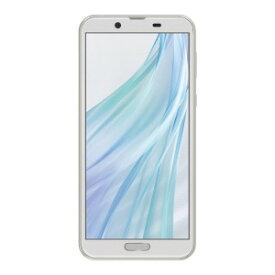 シャープ SIMフリースマートフォン AQUOS sense2 SH−M08 ホワイトシルバー