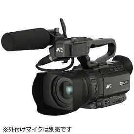JVC・ビクター 4Kメモリーカードカメラレコーダー GY−HM175 GY−HM175 黒
