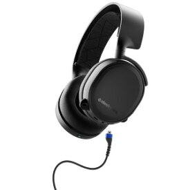 STEELSERIES ゲーミングヘッドセットArctis3 Bluetooth 2019Edition 61509 Black