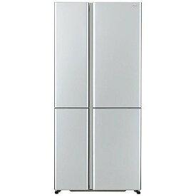 AQUA 4ドア冷蔵庫(512L・フレンチドア) AQR−TZ51H(S) サテンシルバー (標準設置無料)