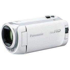 パナソニック ビデオカメラ [フルハイビジョン対応] HC−W590M ホワイト