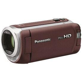 パナソニック ビデオカメラ [フルハイビジョン対応] HC−W590M ブラウン
