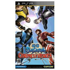 カプコン PSPゲームソフト 戦国BASARAクロニクルヒーローズ