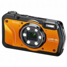 リコー RICOH コンパクトデジタルカメラ [防水+防塵+耐衝撃] WG−6 オレンジ